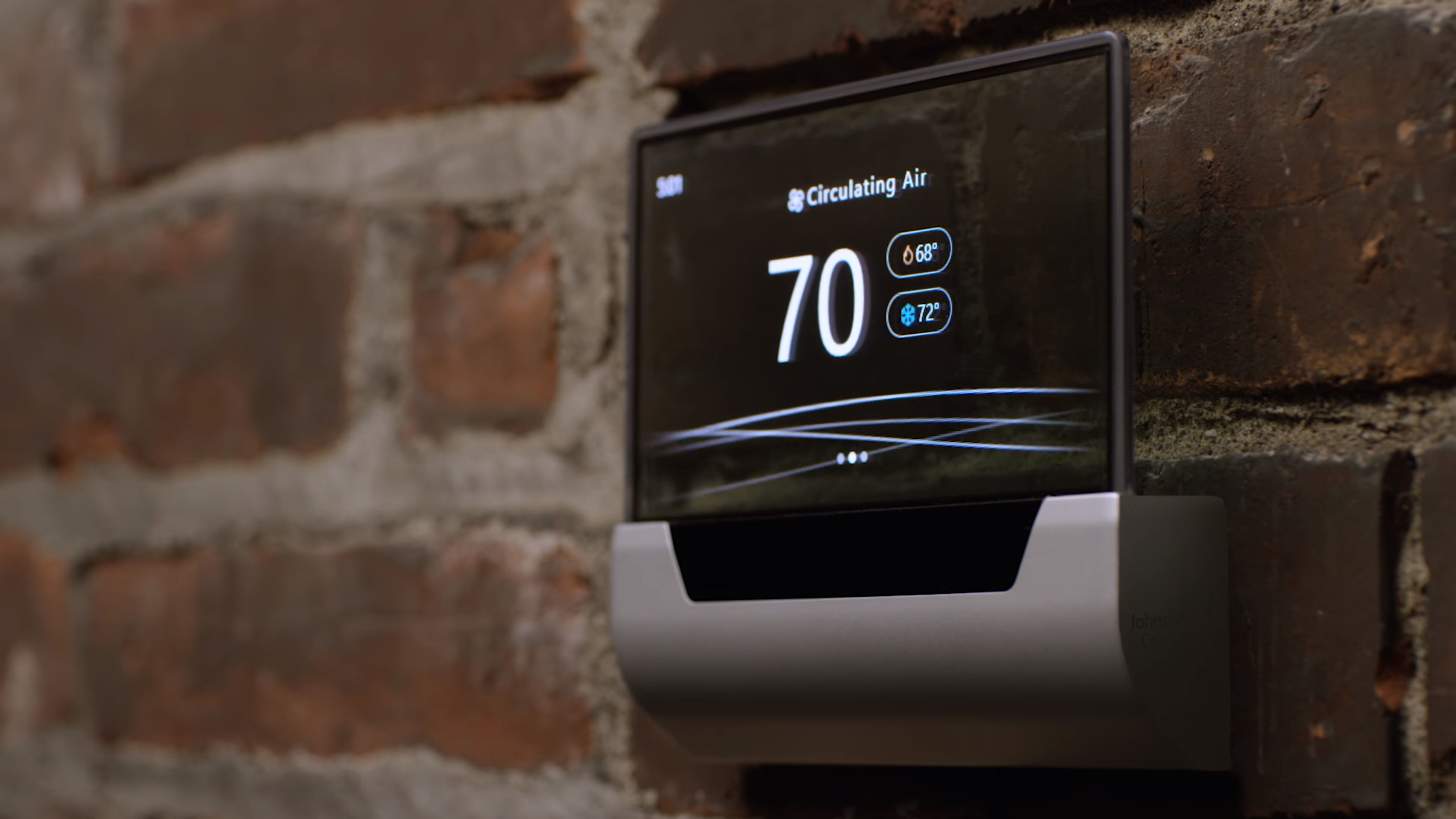 Microsoft and Johnson Controls unveil GLAS thermostat with built-in Cortana assistant
