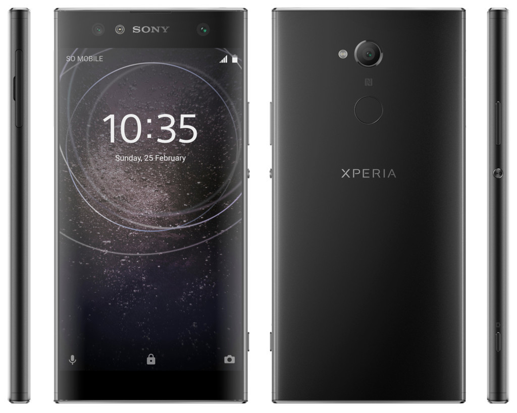 Sony Xperia XA2, XA2 Ultra and Xperia L2 renders leaked online