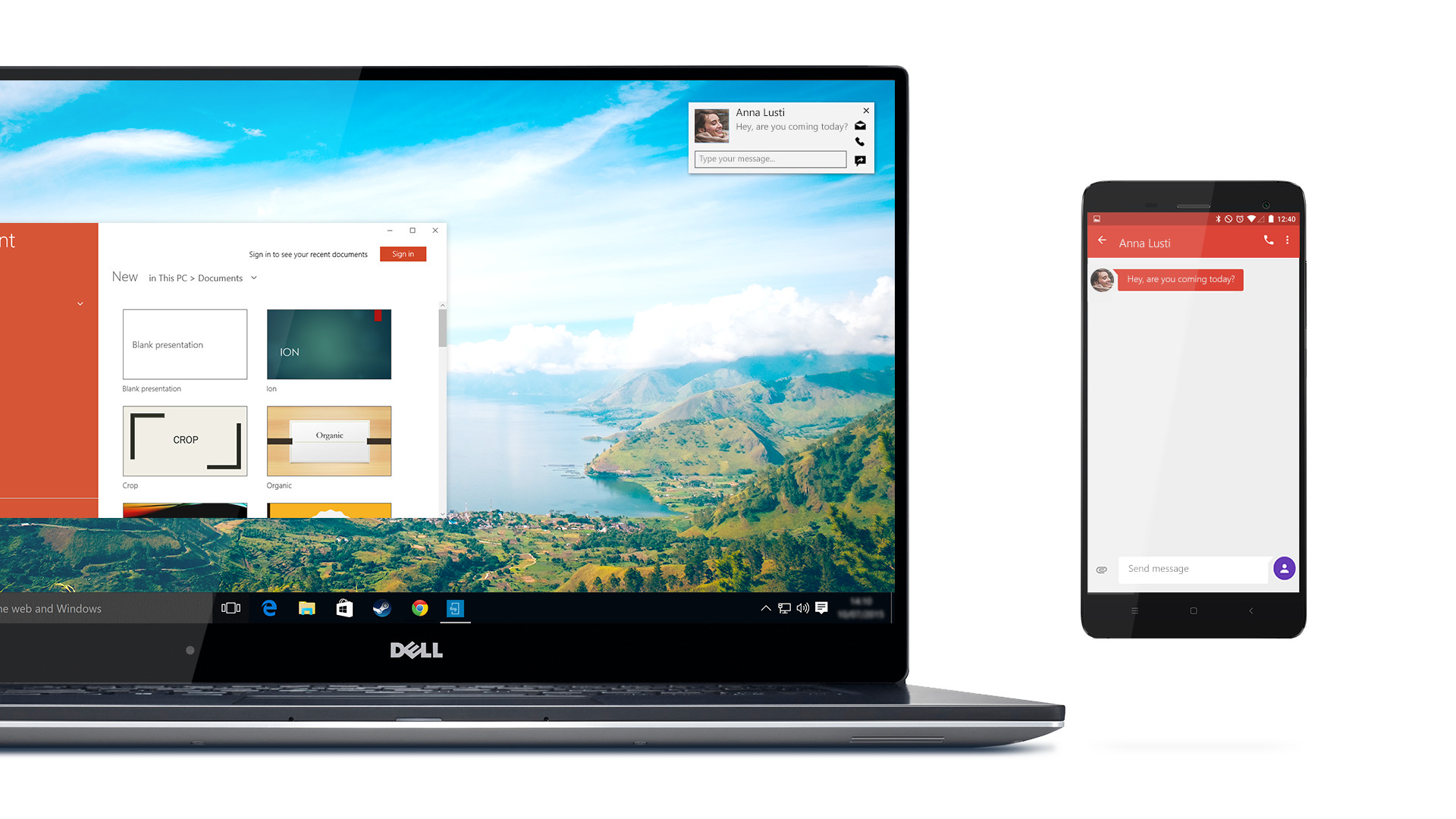 Dell Mobile Connect brings your calls, texts and notifications to your PC