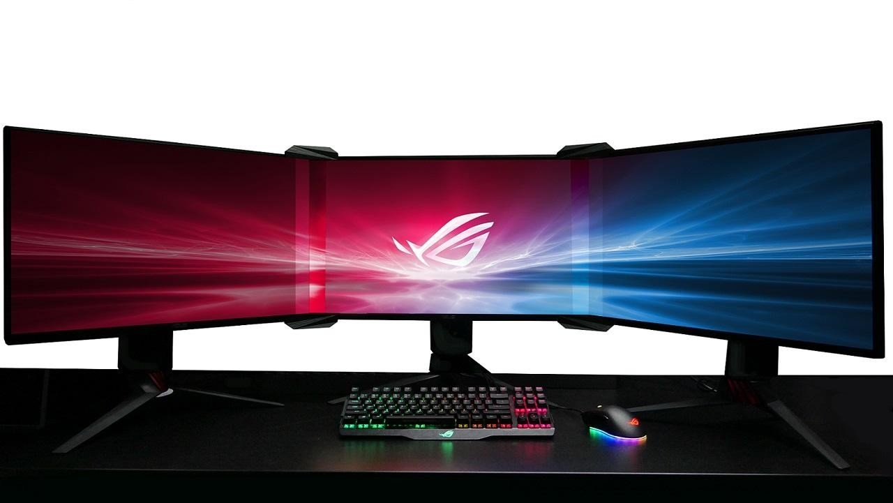 Asus Just Combined Three Gaming Monitors Into One: CES2018