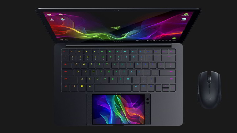 Razer's New Laptop Uses Their Upcoming Phone To Power It