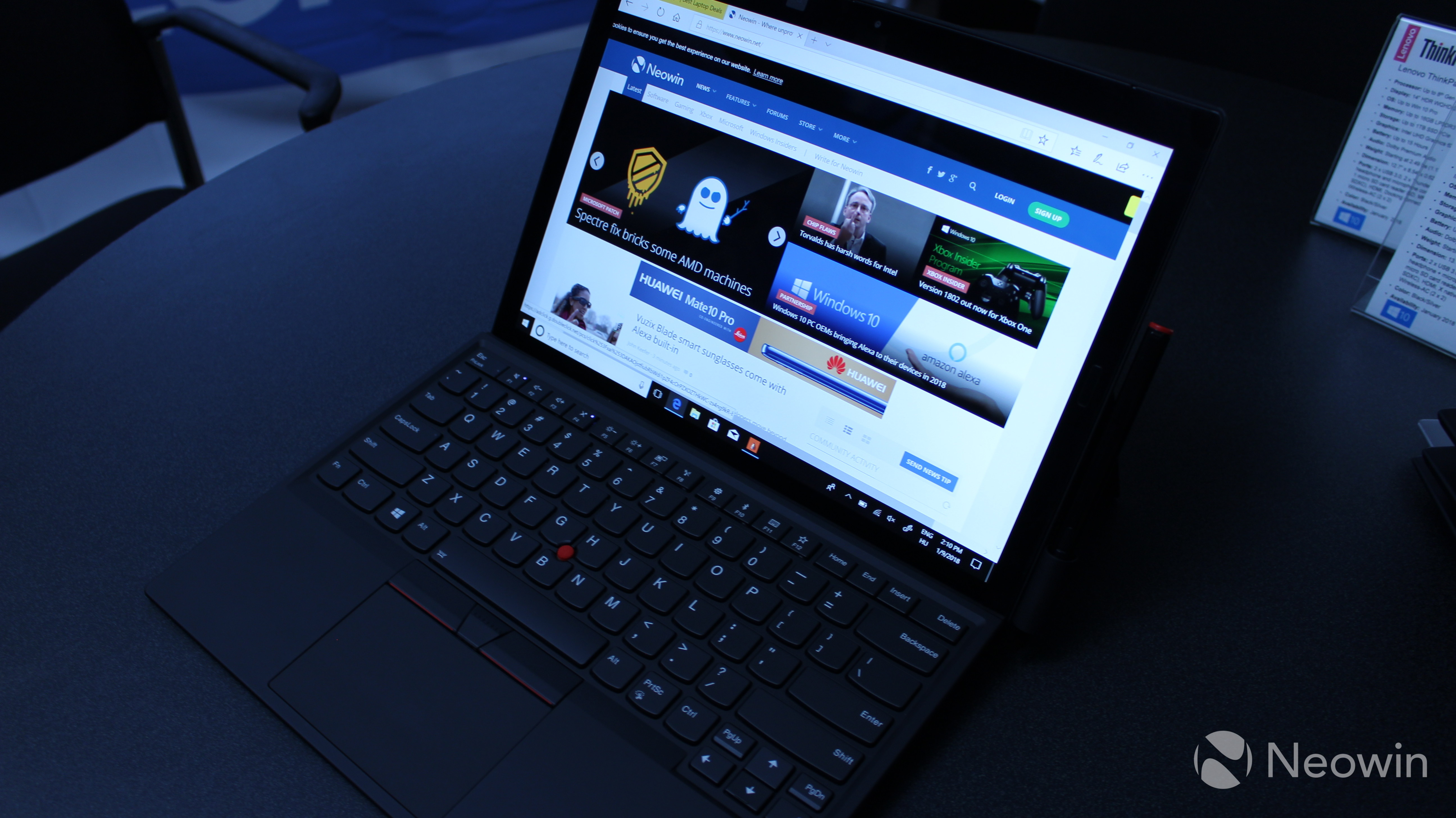 Hands on with Lenovo's redesigned ThinkPad X1 Tablet - Neowin