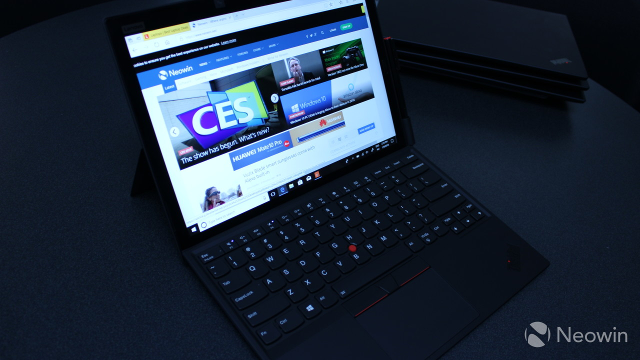 Lenovo ThinkPad X1 Tablet review: It's way better than a Surface Pro