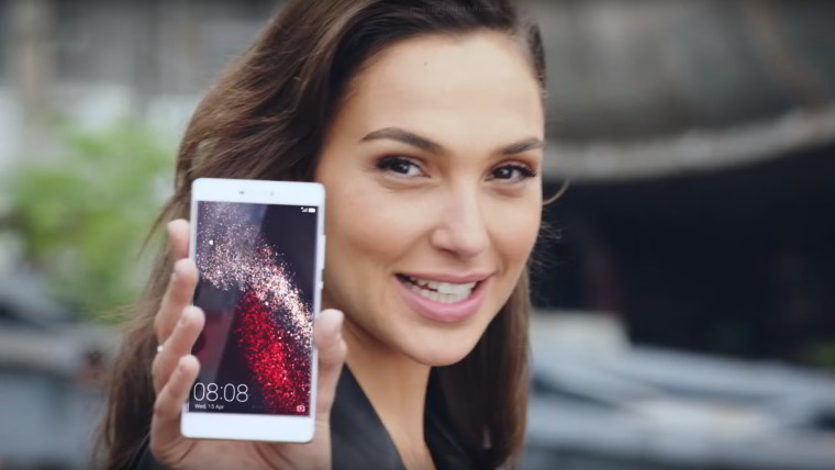 Gal Gadot is Huawei's secret weapon, as U.S.  distribution plans fall through