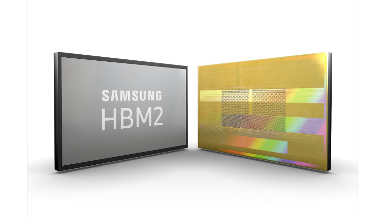 Samsung brands second-gen HBM2 as 'Aquabolt'