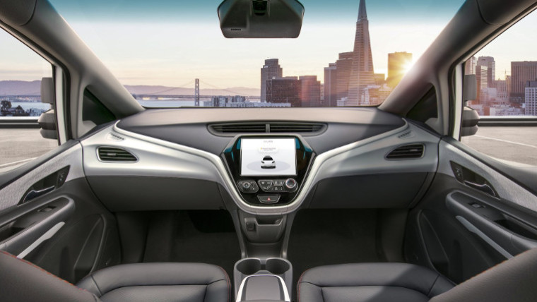 GM unveils autonomous auto  for 2019 with no steering wheel, pedals