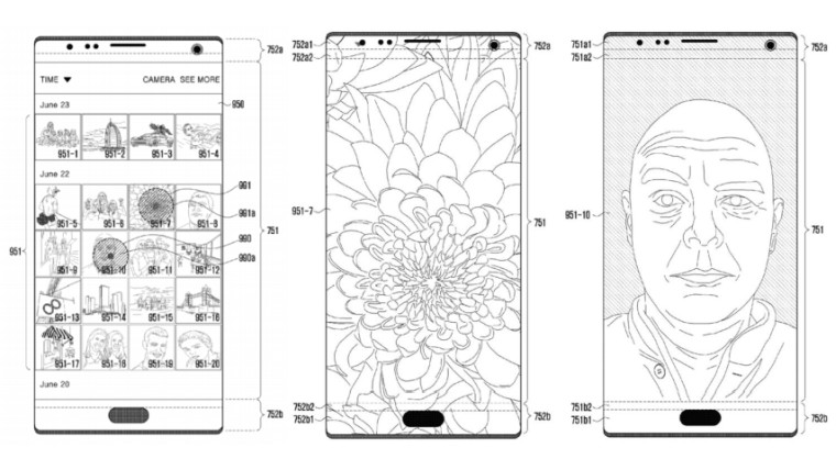This Samsung patent could solve the iPhone X's notch problem