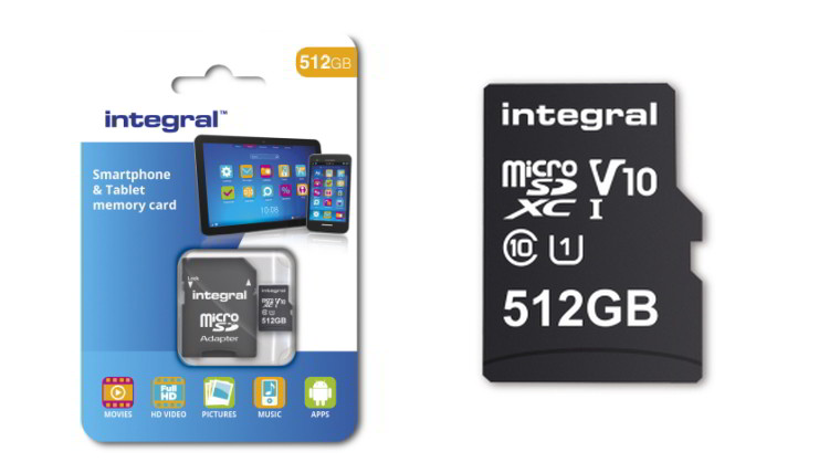 Integral Releasing Worlds First 512gb Microsd Card Next Month Neowin