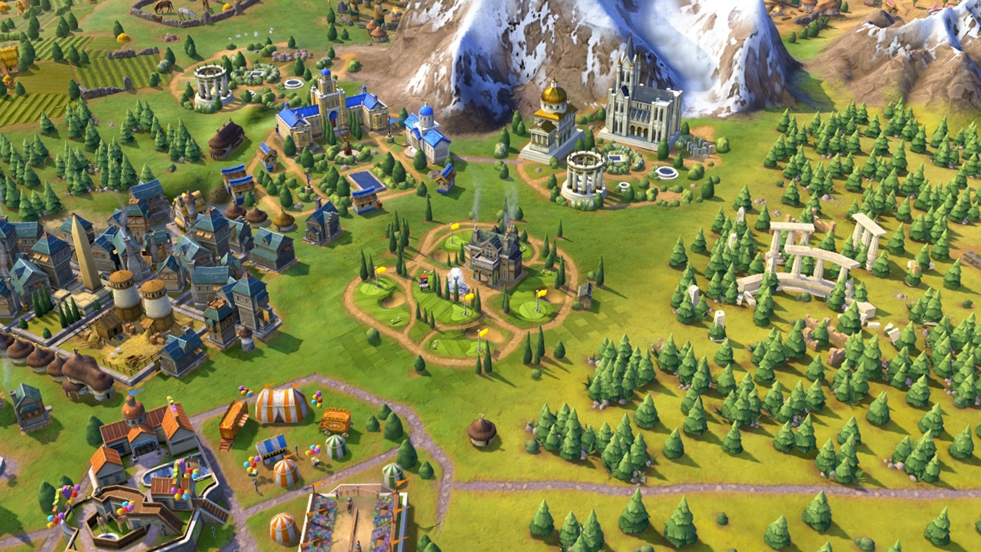 Robert the Bruce, Highlander and golf courses: it's Scotland in Civilization 6
