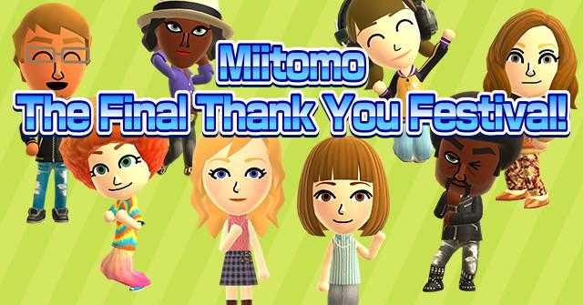 Nintendo announces the end of Miitomo, its smartphone game ...