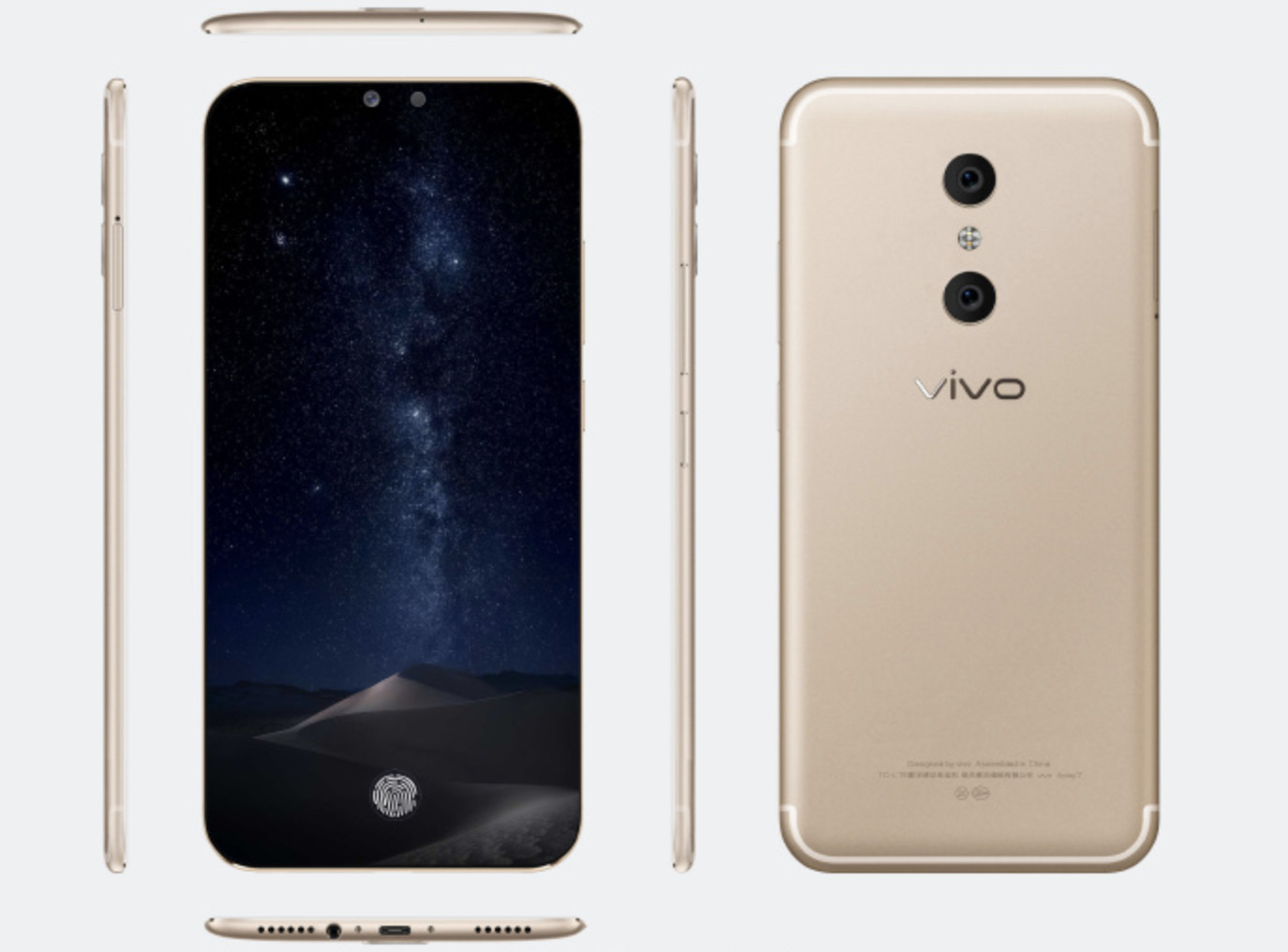 Smartphone Vivo Xplay7 - a new record for the amount of memory