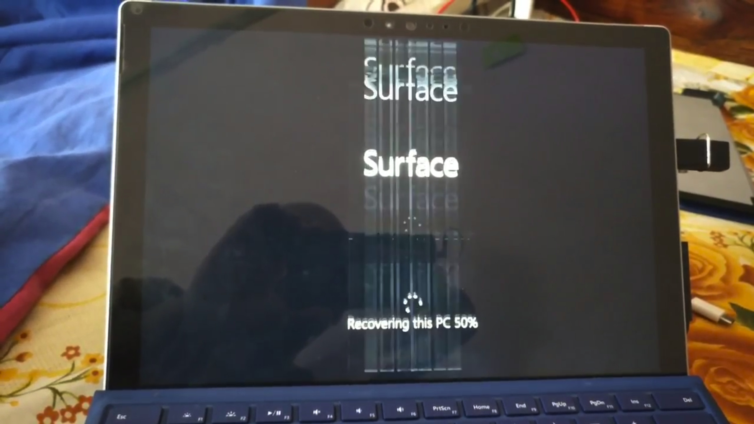 Surface Pro 4 Users Freezing Device to Solve Flickering Issue