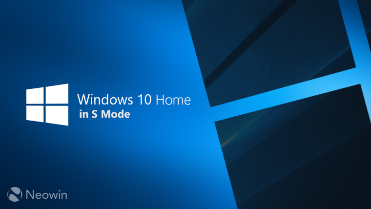 Microsoft Confirms Windows 10 S Becomes '10S Mode' in 2019
