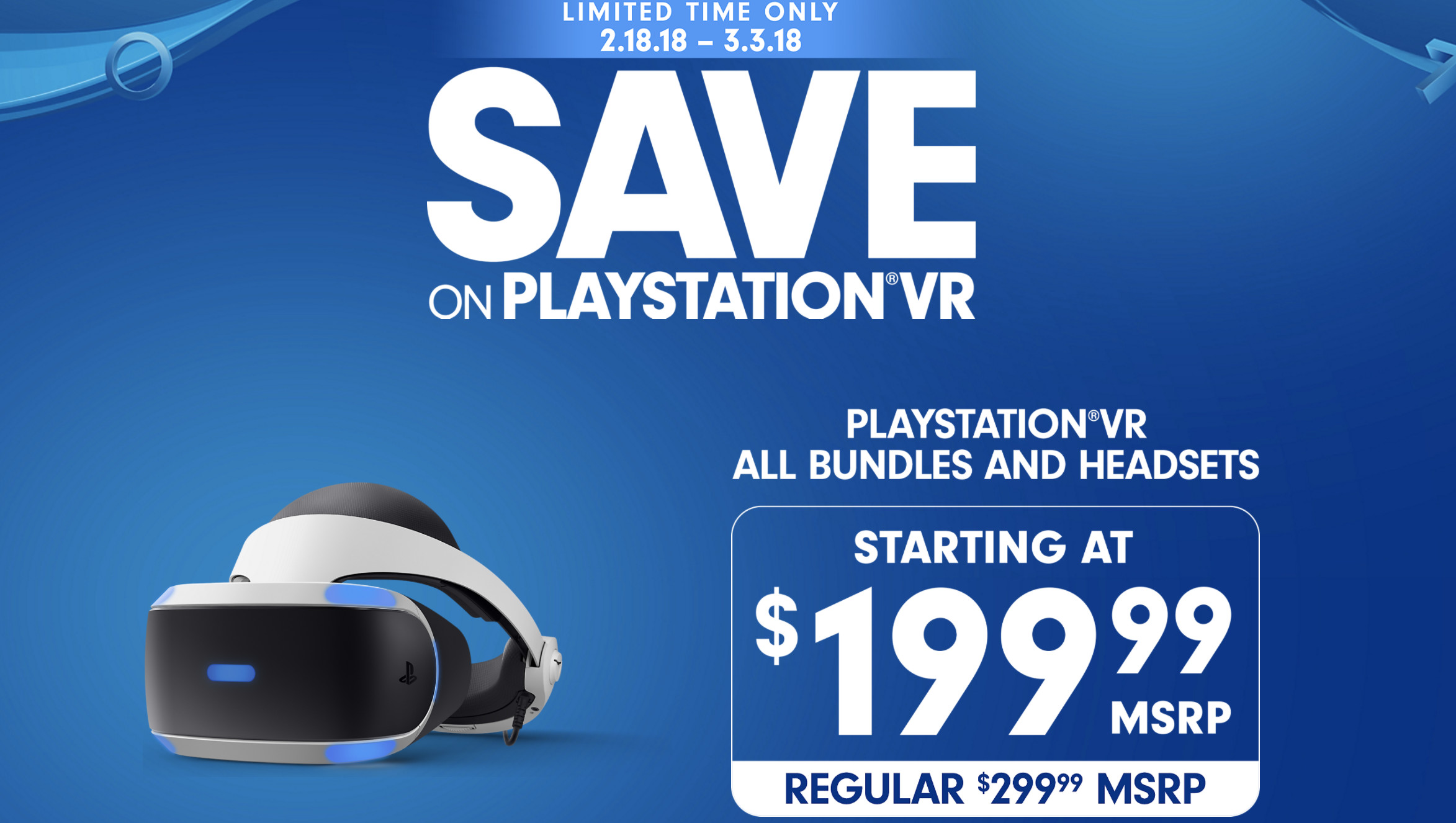 Sony Announces New PlayStation VR Deals and Bundles