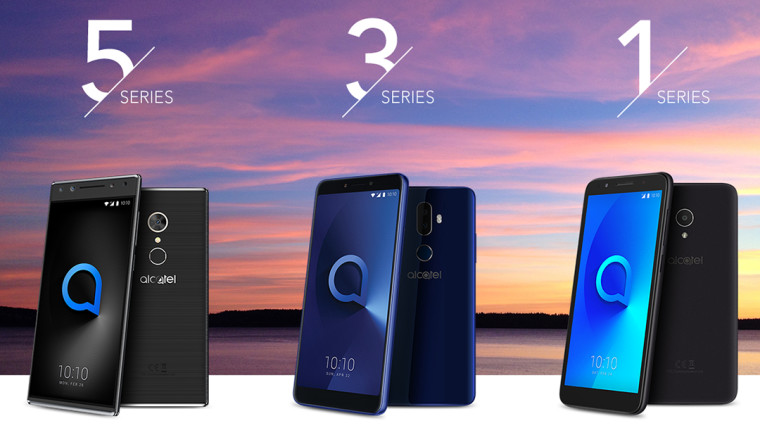 Alcatel unveils a slew of new devices with 18:9 aspect ratios