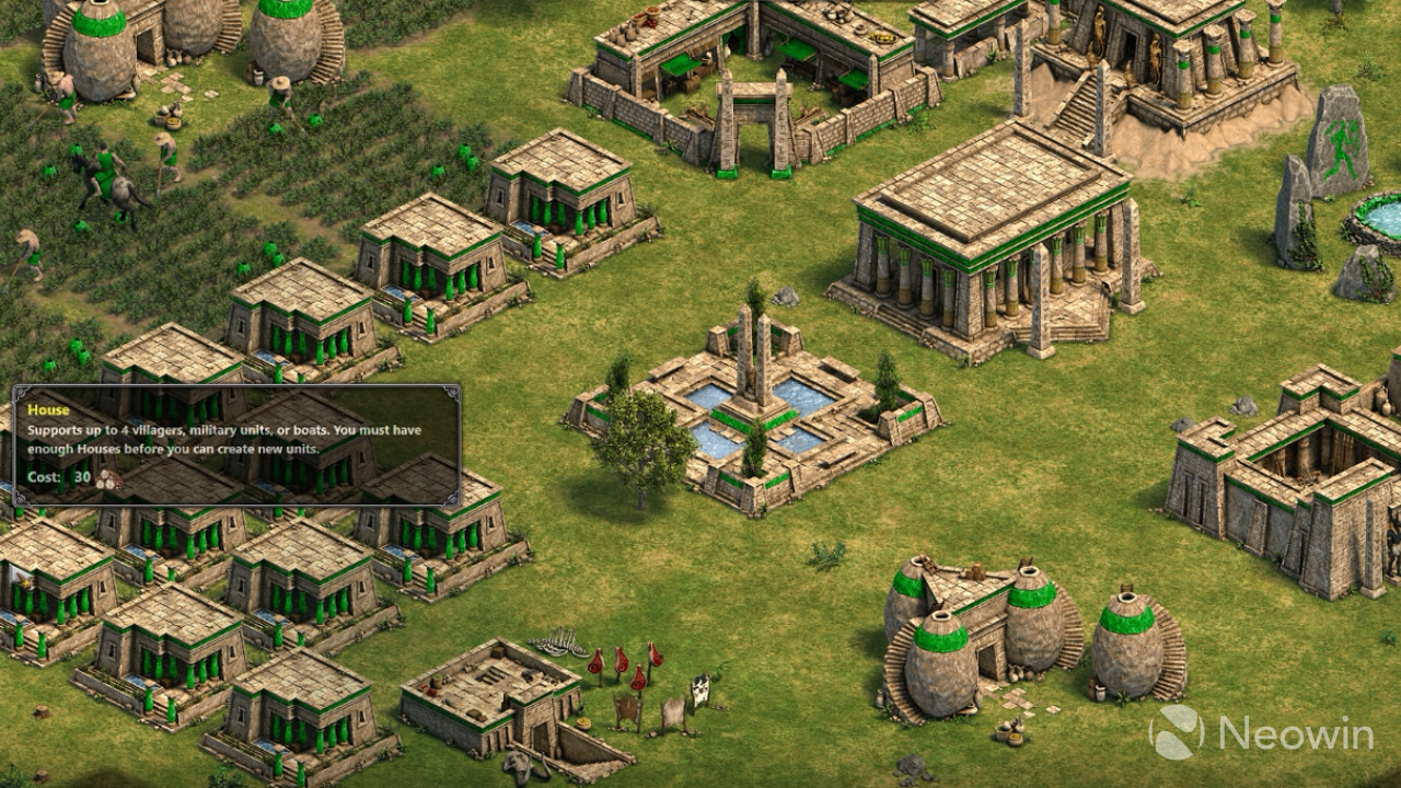... behind – we plan to release new content and features – like  cross-network play – to let Steam players come along on the Age of Empires  journey with us.
