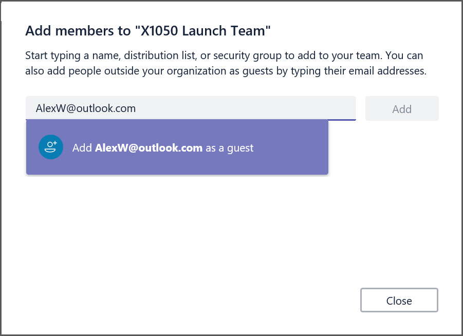 Microsoft Teams Now Lets You Add Guest Users With Any Email