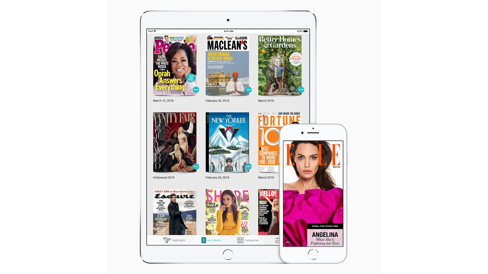 Apple has acquired digital magazine service Texture