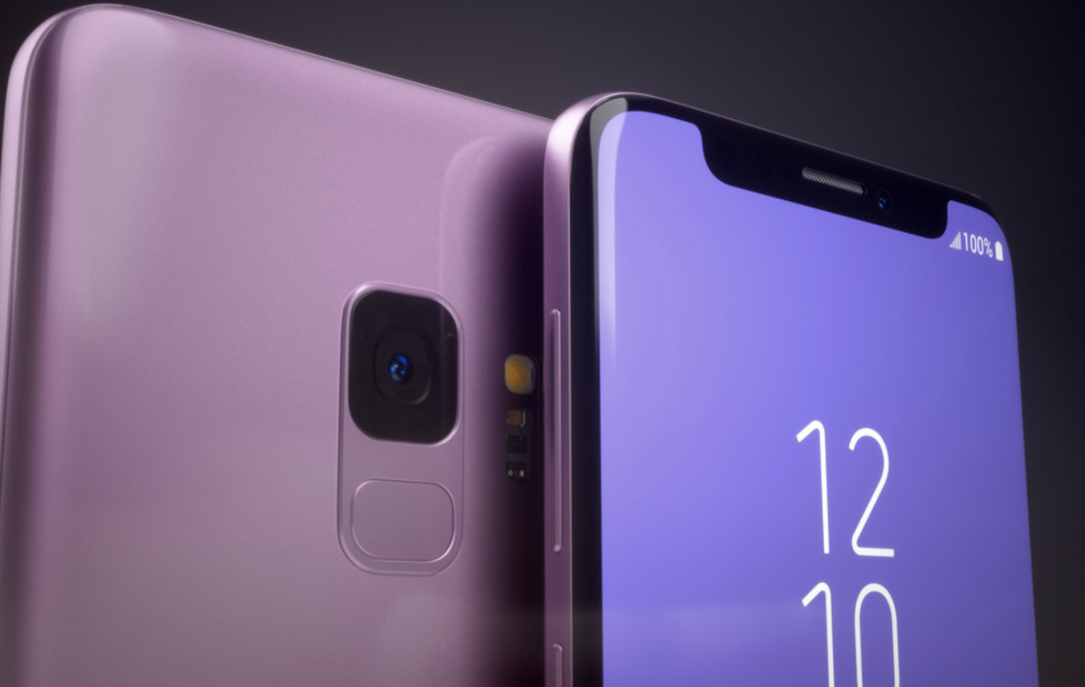 Reimagined Samsung Galaxy S9 shows off display cutout and