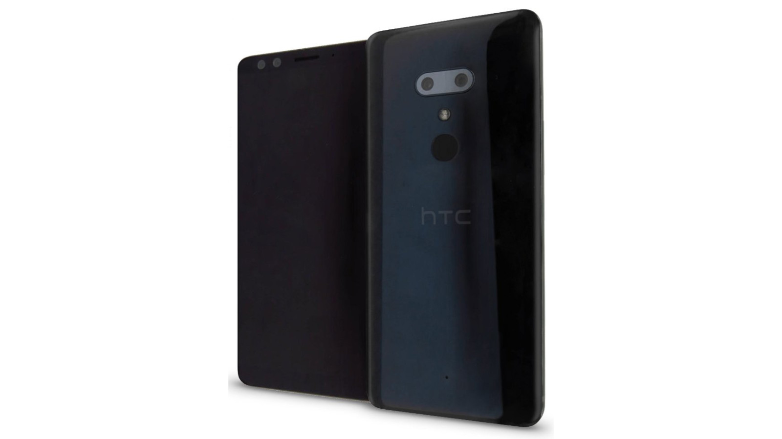Here's a leaked render of the HTC U12+