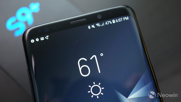 Firmware update for Samsung Galaxy S9 and S9+ fixes call stability
