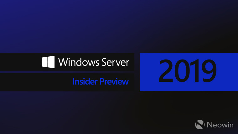 Microsoft releases Windows Server 2019 build 17744 with