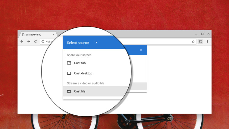 Google Chrome finally receives ability to cast local files