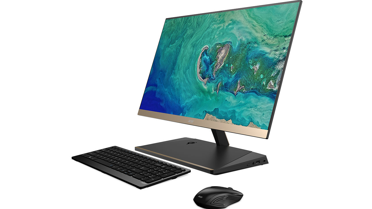 Acer Unveils Aspire S24 Desktop With Qi Wireless Charger and Windows 10