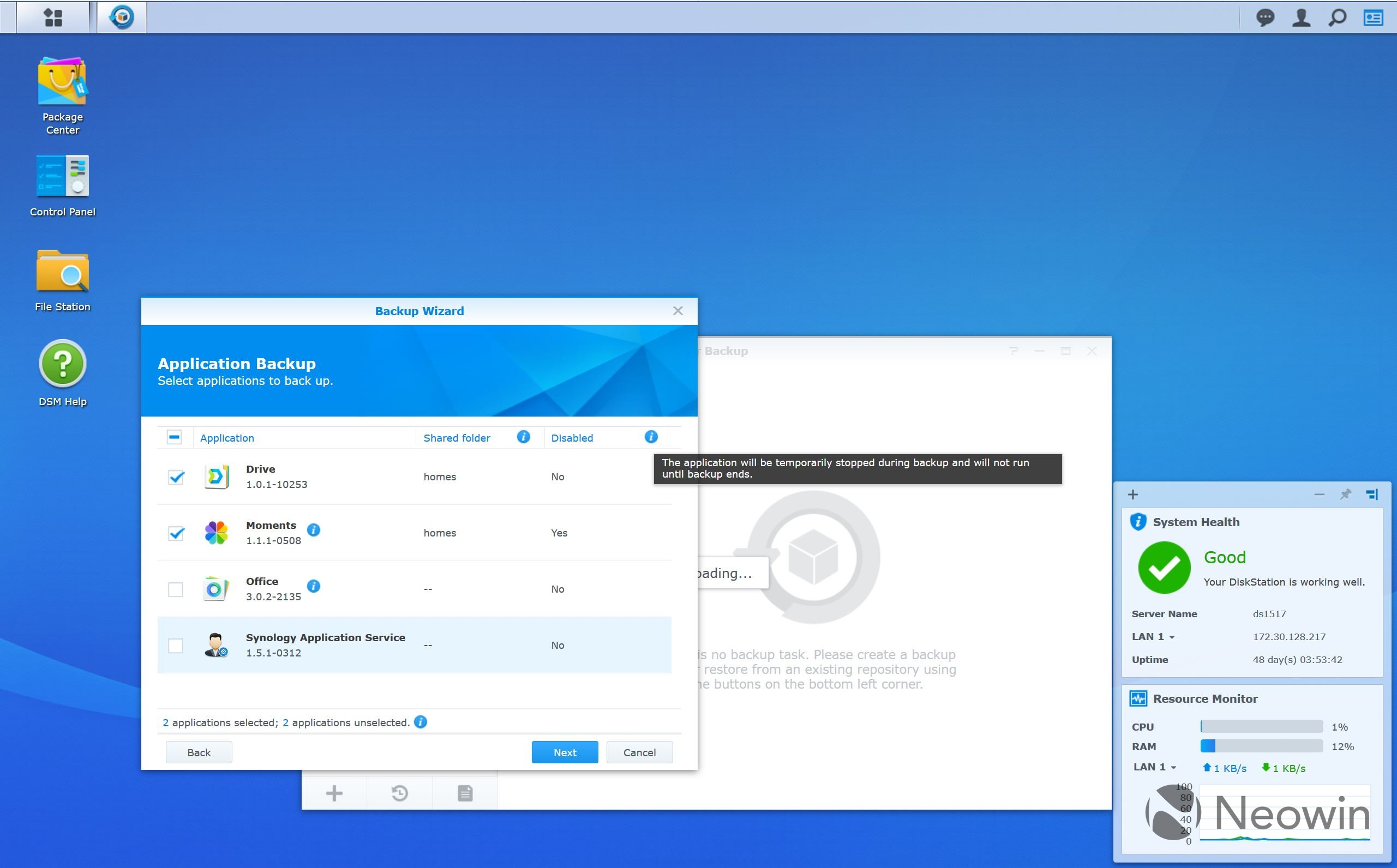 A look at Synology's Hyper Backup tool and C2 cloud backup service