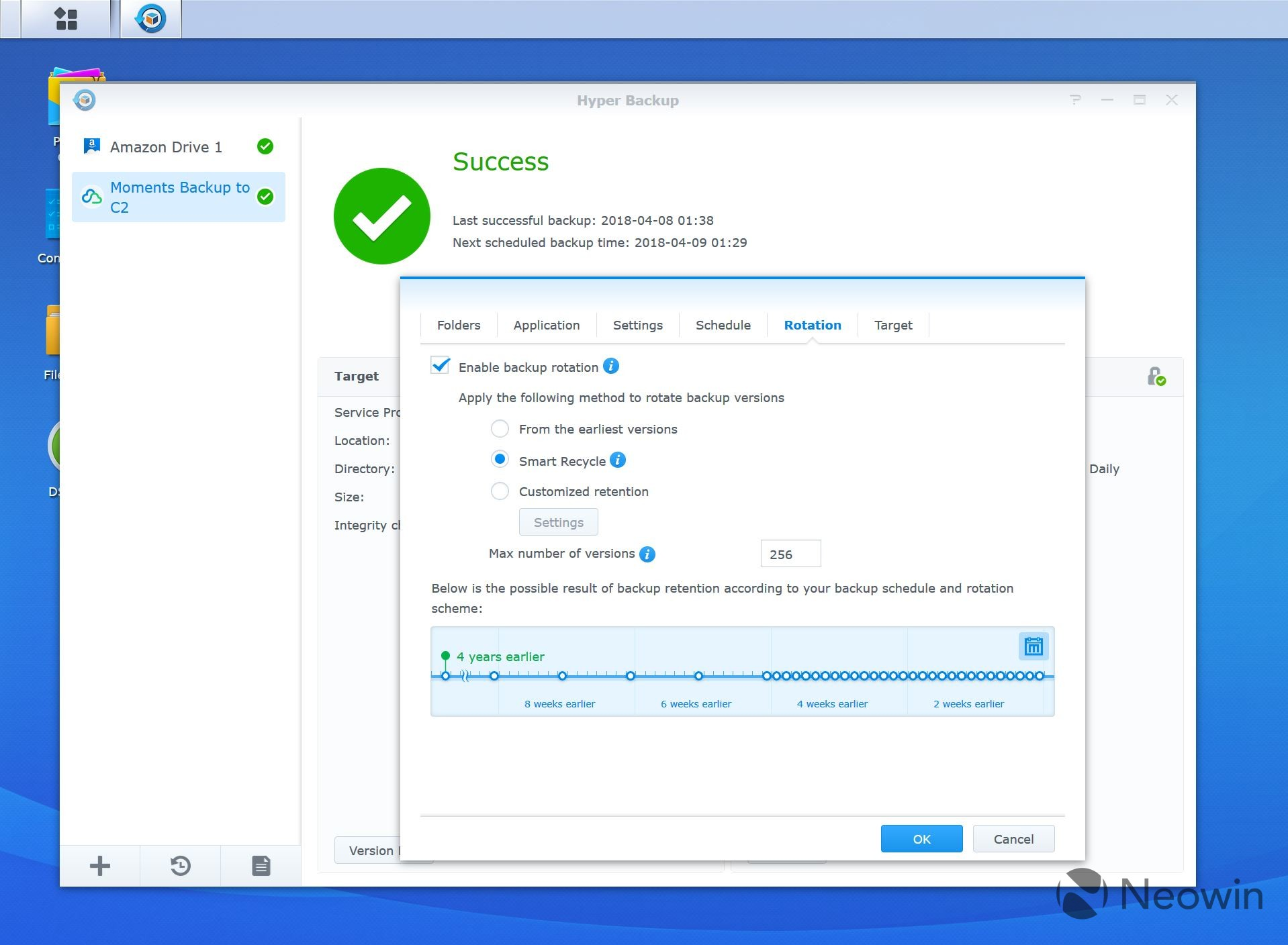 A look at Synology's Hyper Backup tool and C2 cloud backup