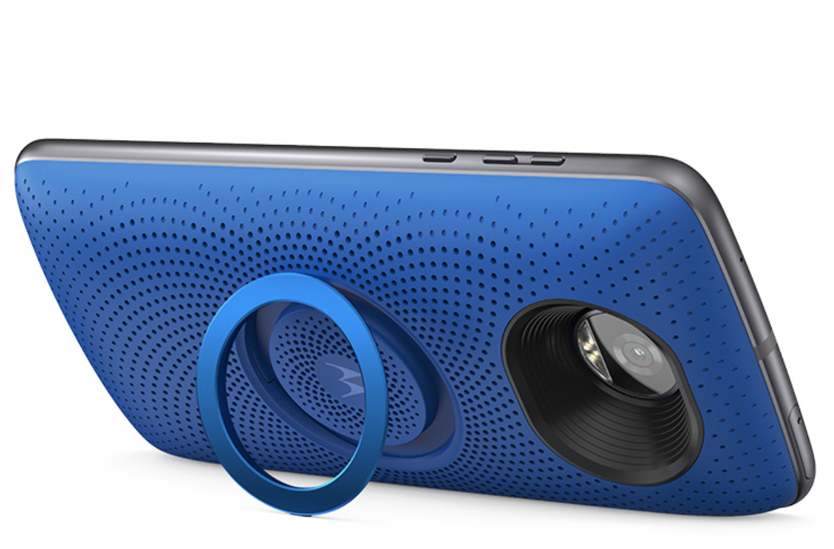 Lenovo has launched the cheapest Moto Mod yet - the Moto Stereo Speaker