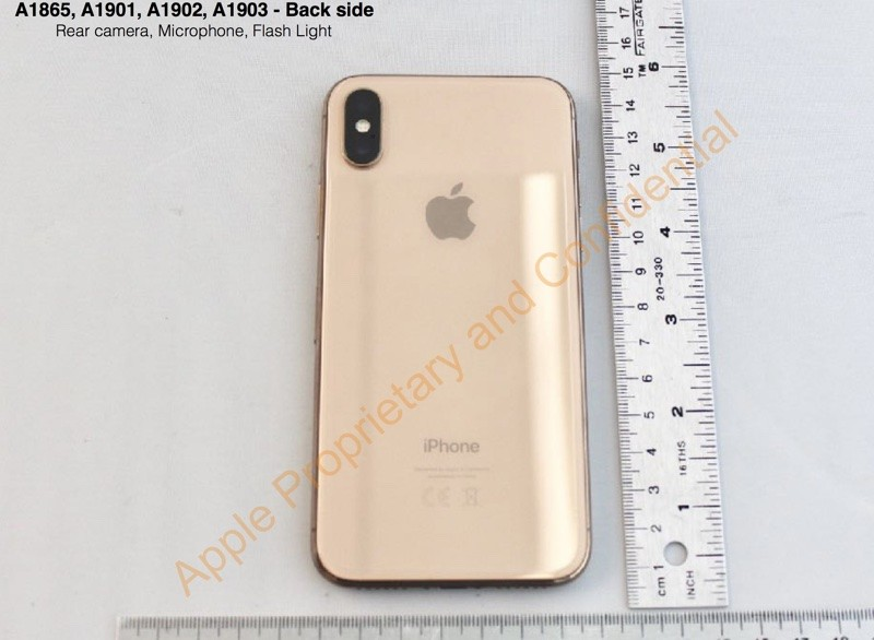 Apple\u0027s gold colored iPhone X leaks in new images , Neowin