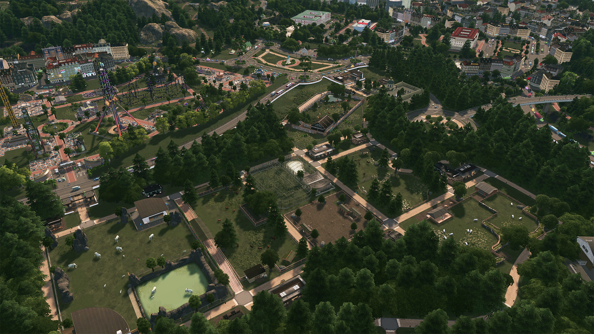 Cities: Skylines Newest Expansion Allows You To Build Your Own Theme Park