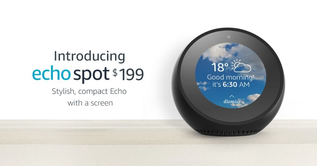 Amazon Echo Spot coming to Australia April 26th
