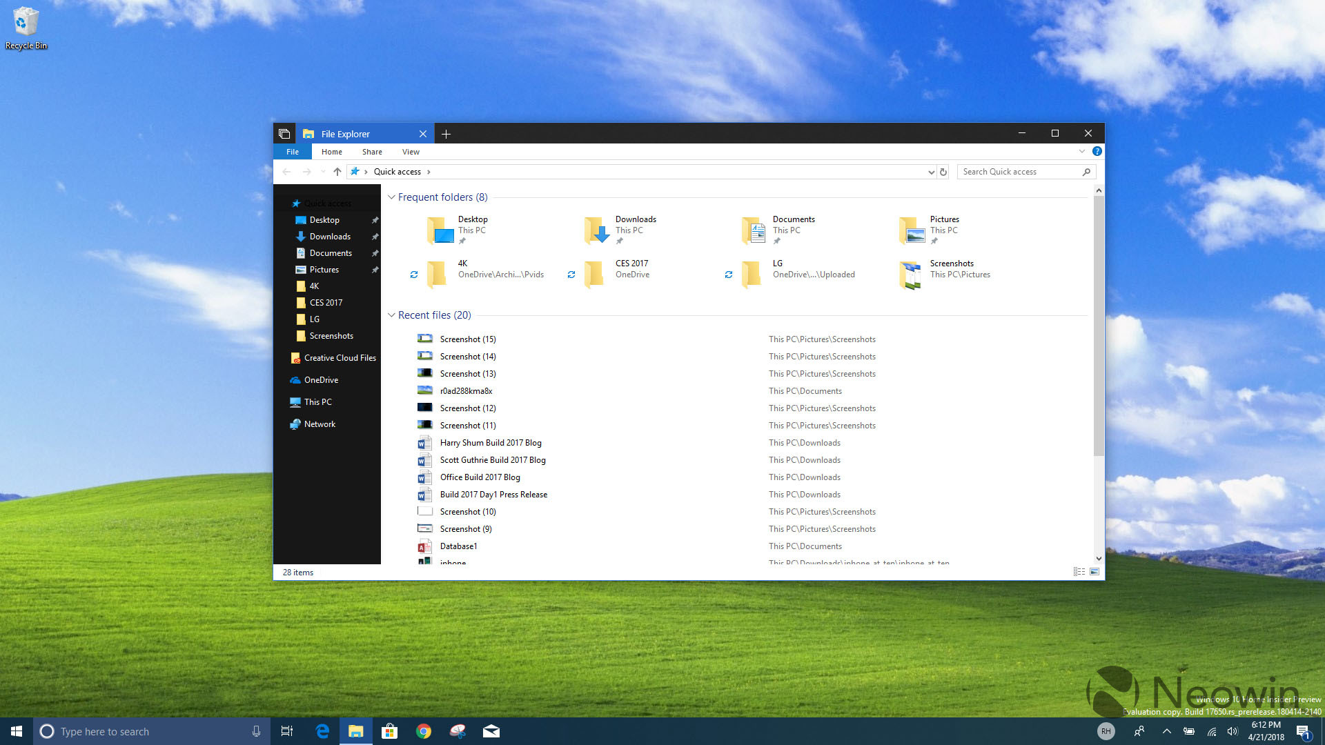 File Explorer Is Finally Getting A Dark Theme In Windows 10 Redstone