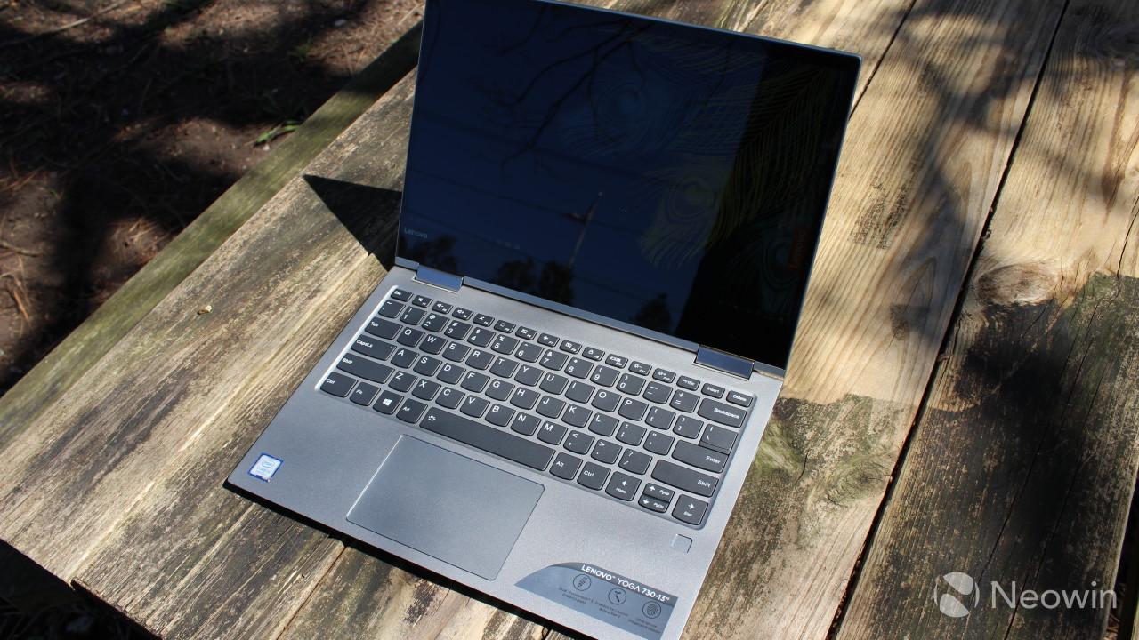 Lenovo Yoga 730 13 review - The mid-range looks pretty good