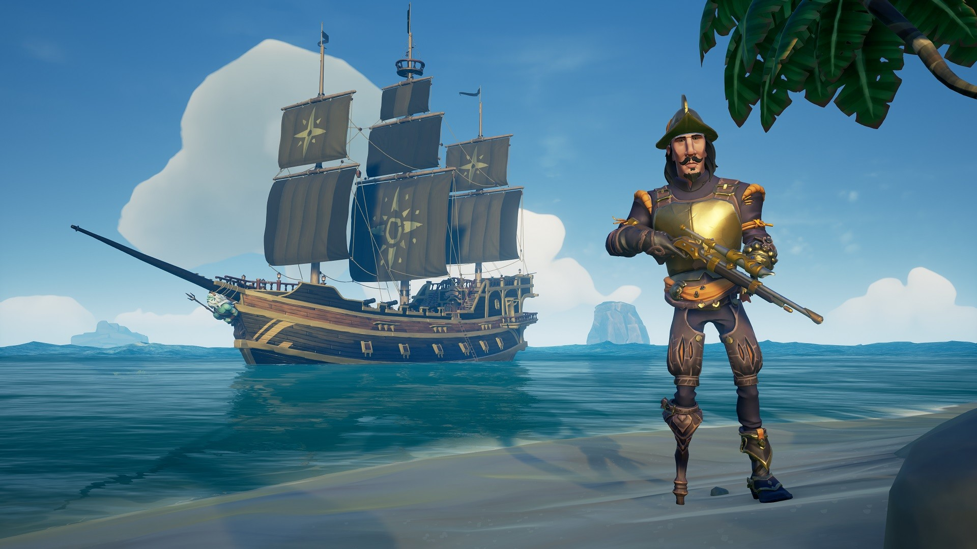 Sea of Thieves Adds New Cosmetics, Month Anniversary Gift
