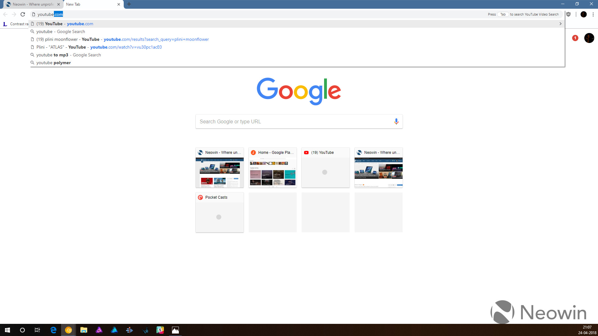 Google Chrome Canary reveals a number of noticeable design