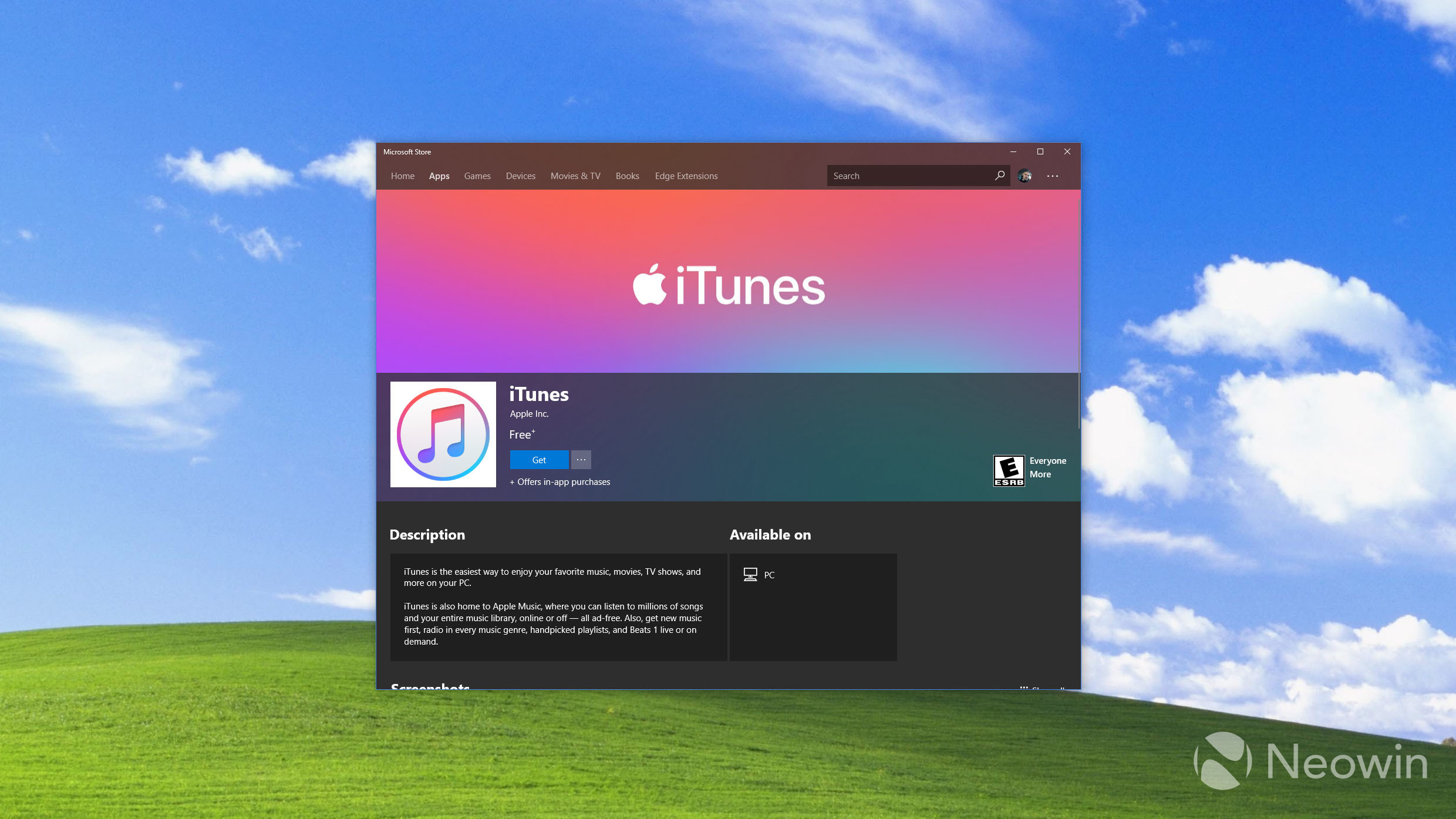 ITunes Is Finally Available in the Microsoft Store for Windows 10