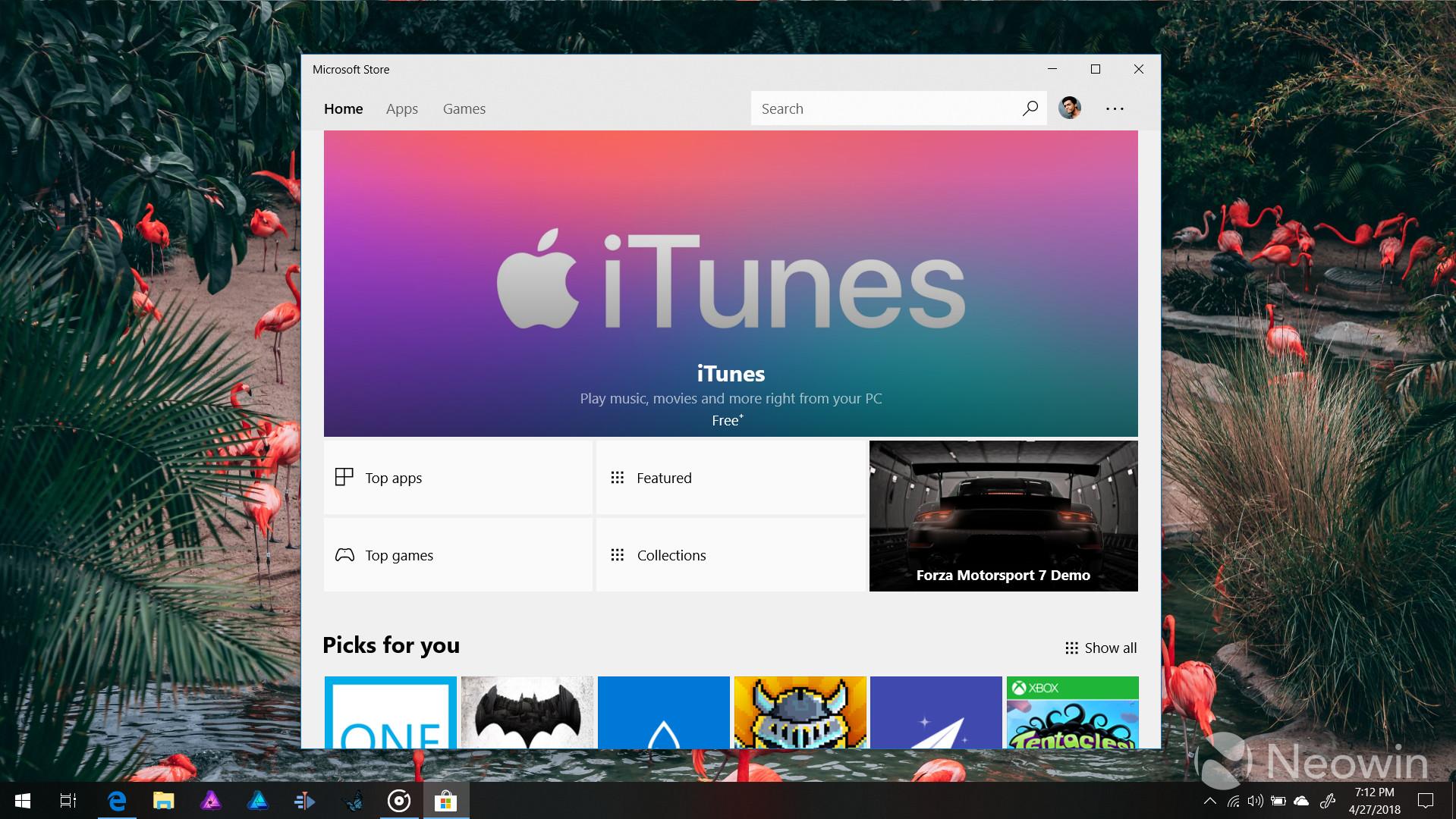 app store apple for windows
