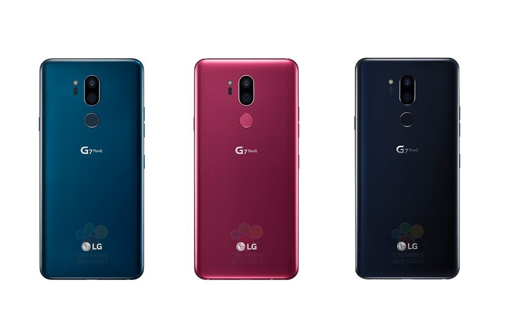 More images of the LG G7 ThinQ leak just a day before launch