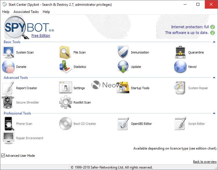 free download spybot