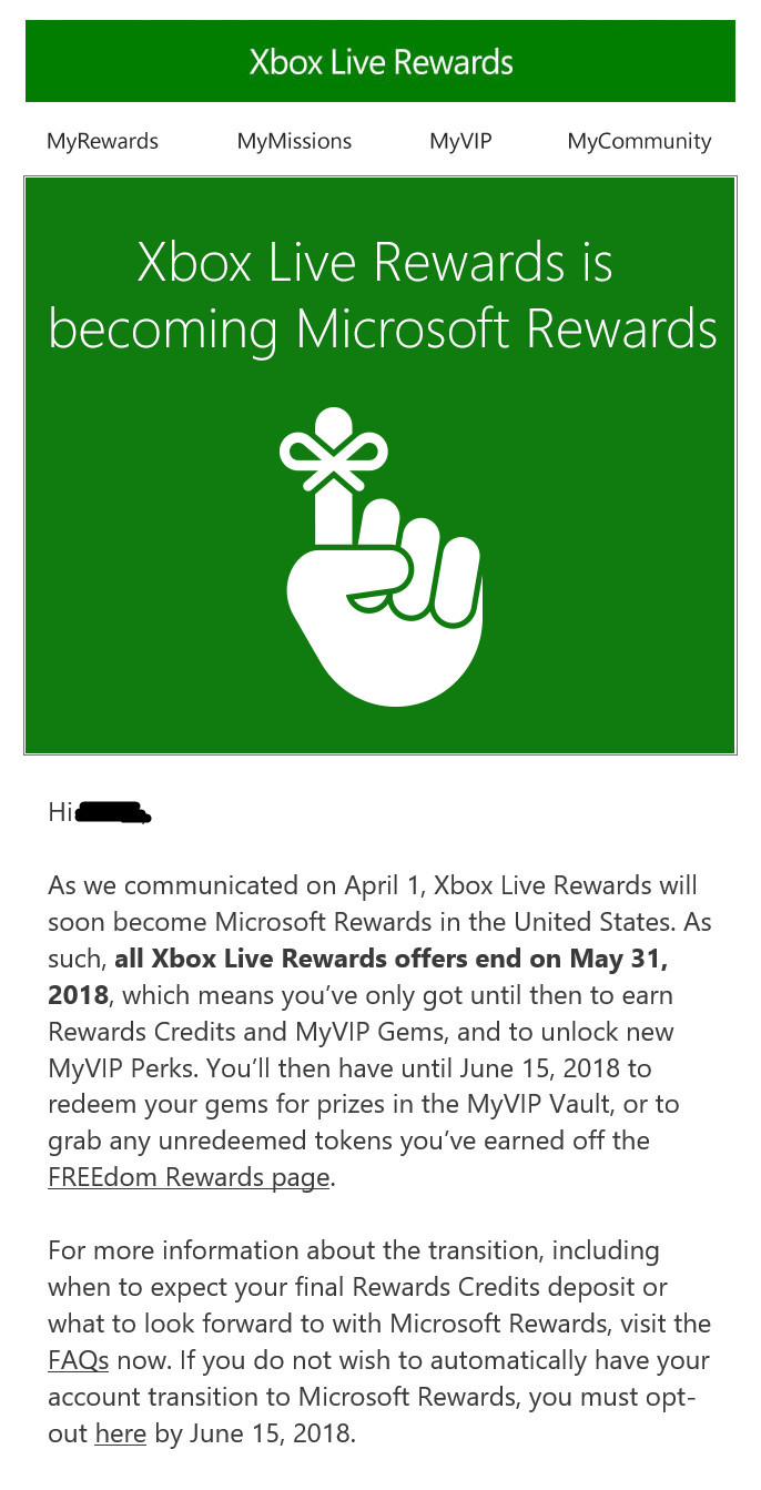 Xbox Live Rewards to migrate to Microsoft Rewards in US - Neowin
