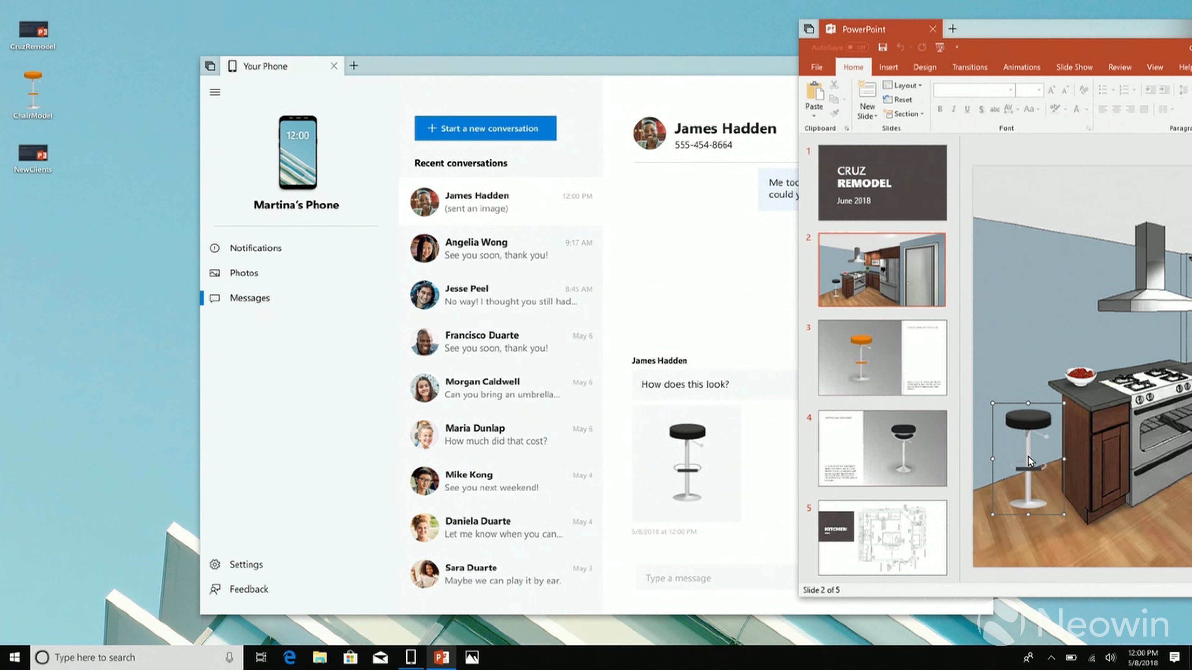 microsoft talks about cross device experiences with timeline and