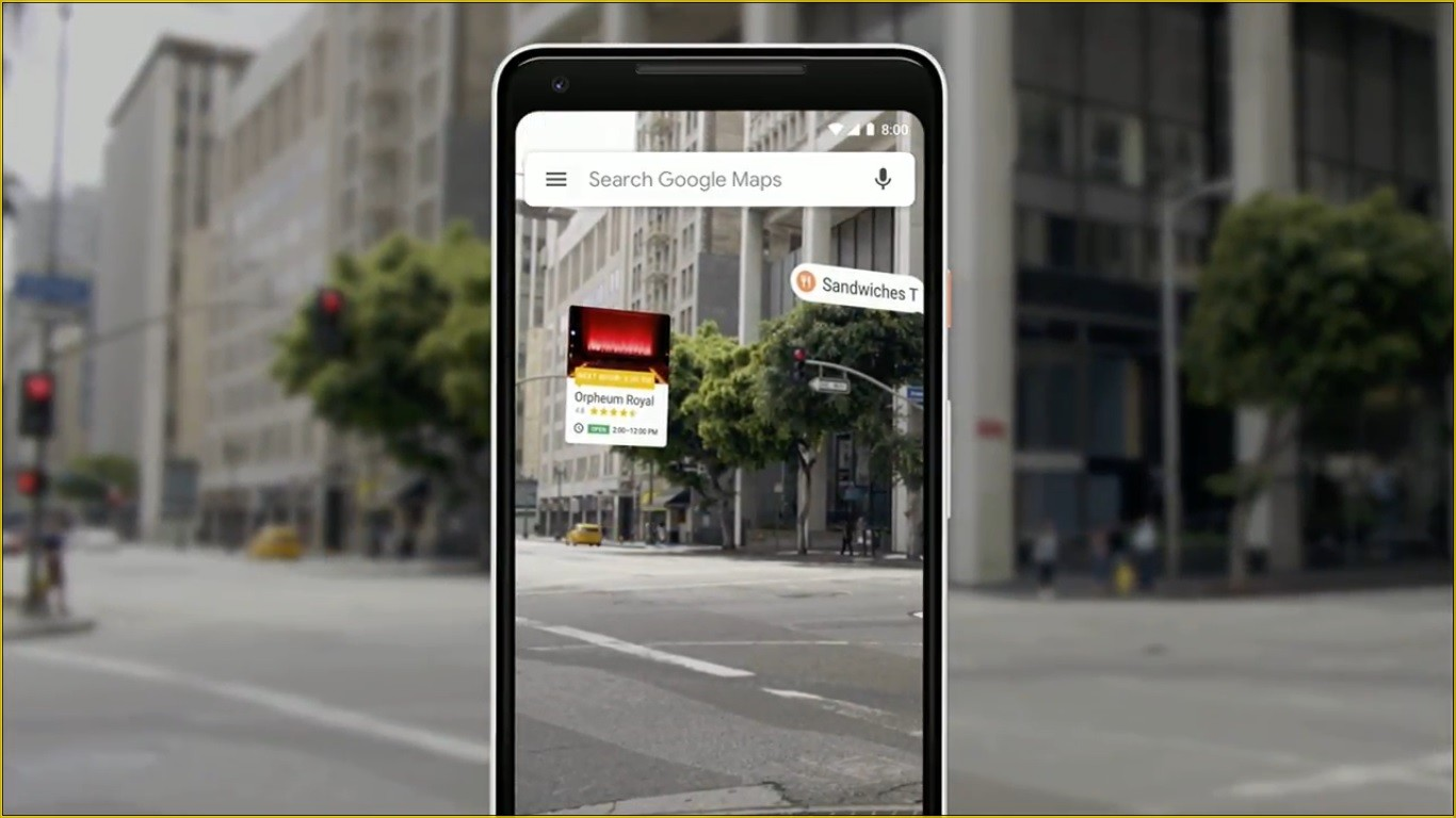 Google Wants To Use AR To Make Walking Navigation Easier In Maps