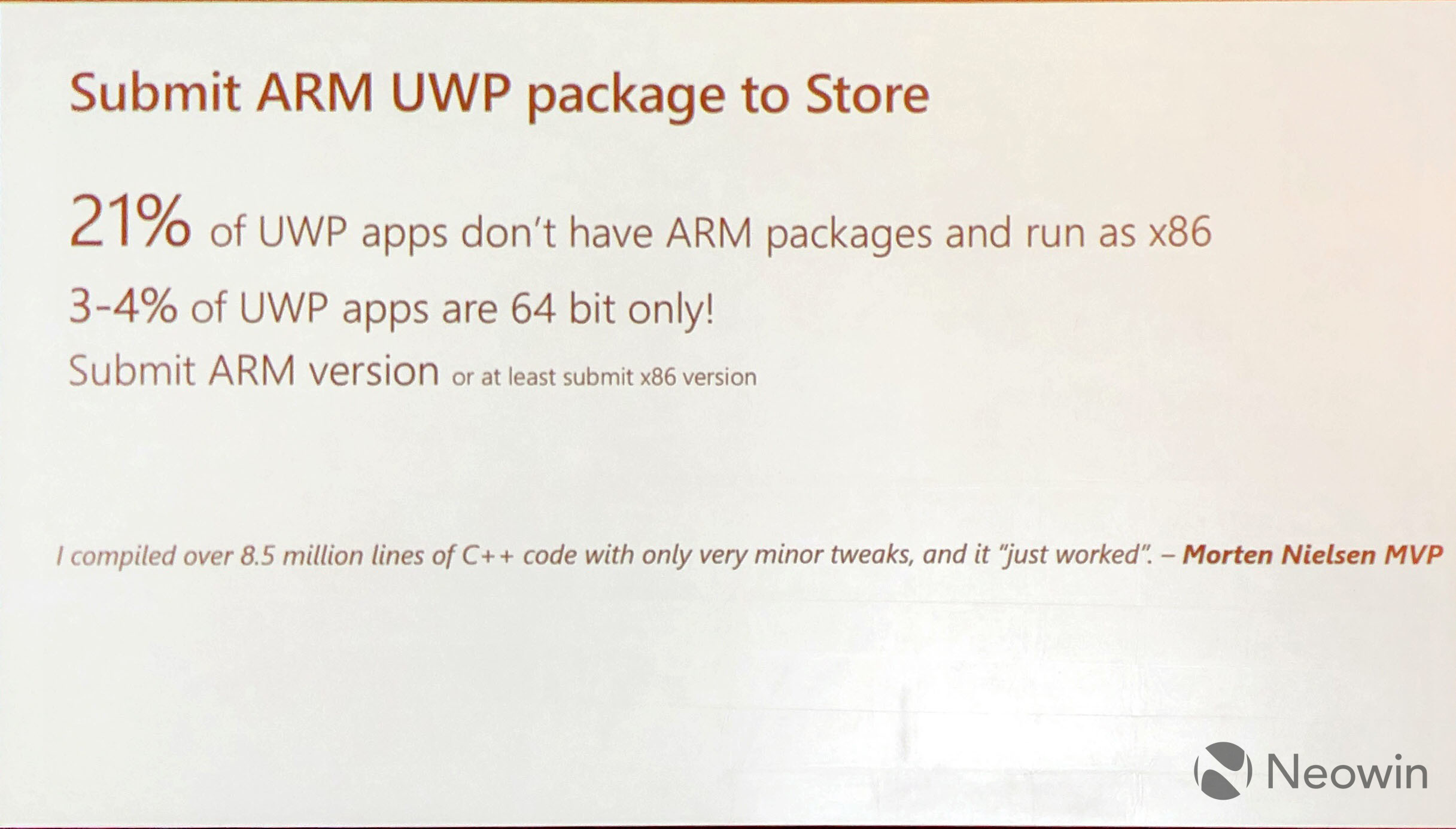 Microsoft finally releases an ARM64 SDK, supporting UWP