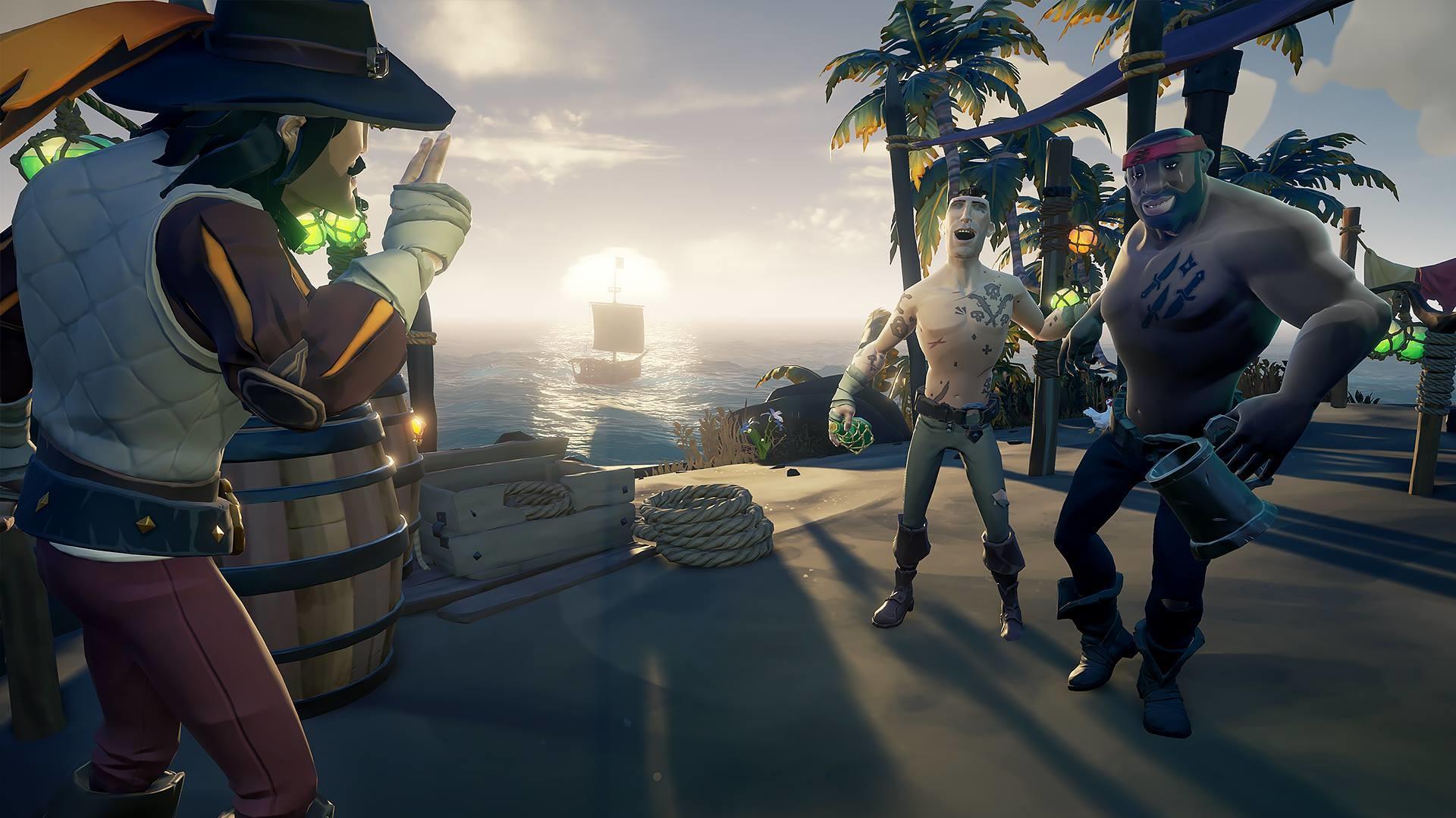 Sea Of Thieves 1 0 7 Update Brings Private Crews Better Higher