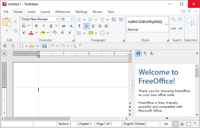 FreeOffice TextMaker