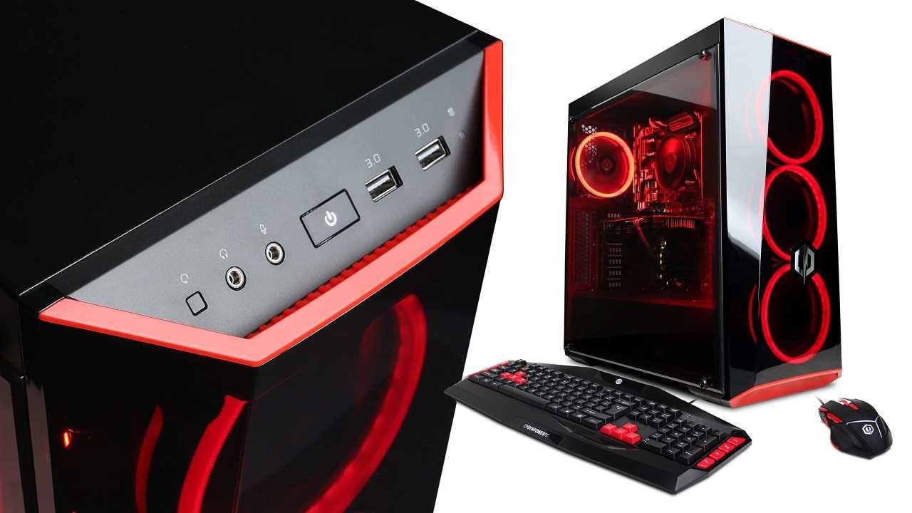 CyberPowerPC Gamer Xtreme with i5-8400 and Radeon RX 580 is