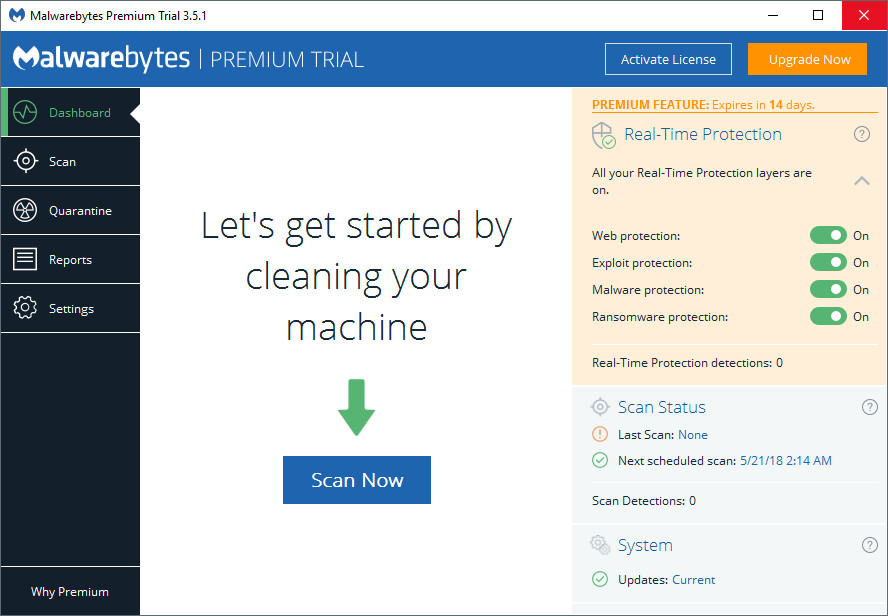 malwarebytes 3 6 1 premium license key for life time 2018 latest version